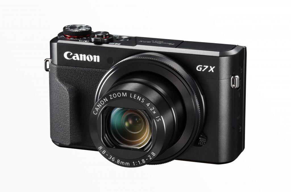 Canon Announced PowerShot G7 X Mark II