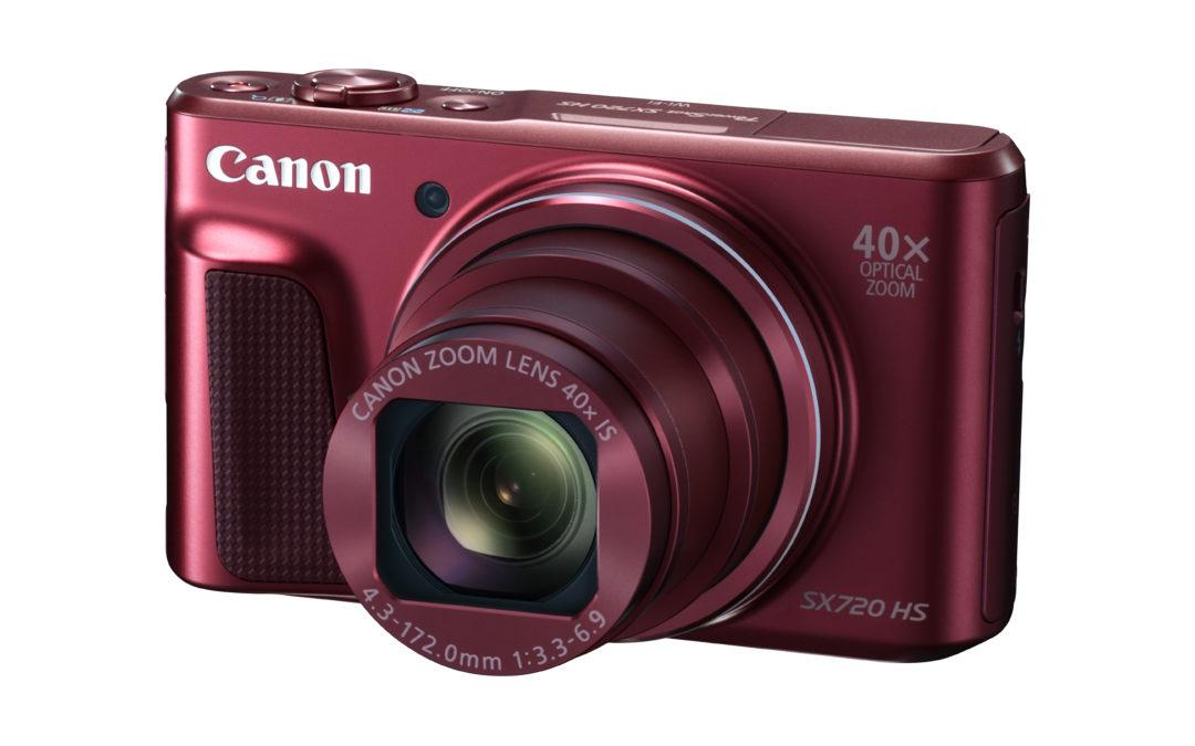 Canon launched PowerShot SX720 HS