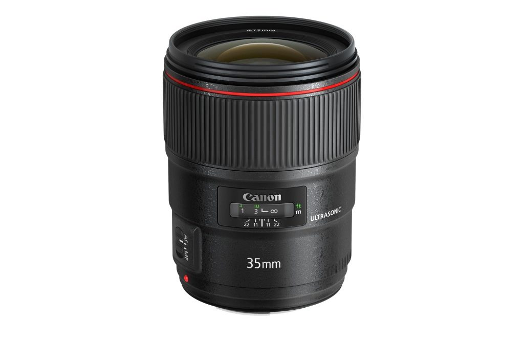 Canon Announced EF35mm f/1.4 L II USM