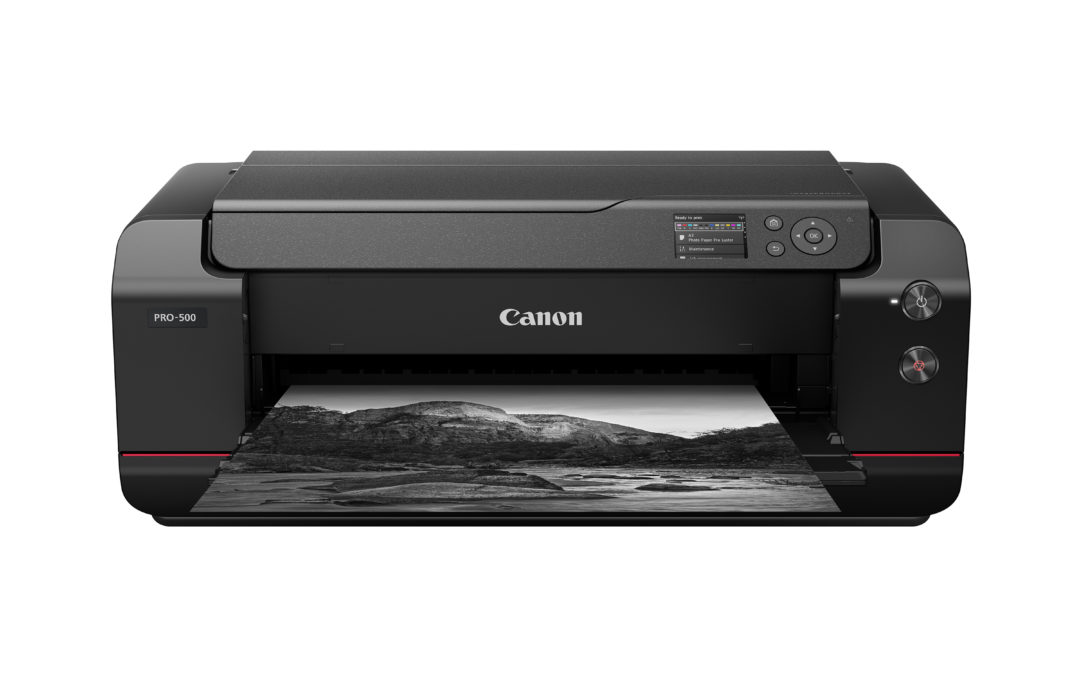 Canon launched imagePROGRAF PRO-500