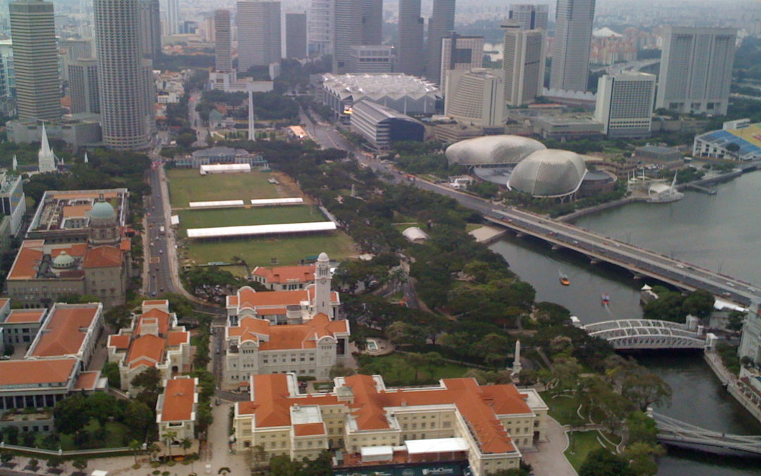 Bird's Eye View of Singapore !