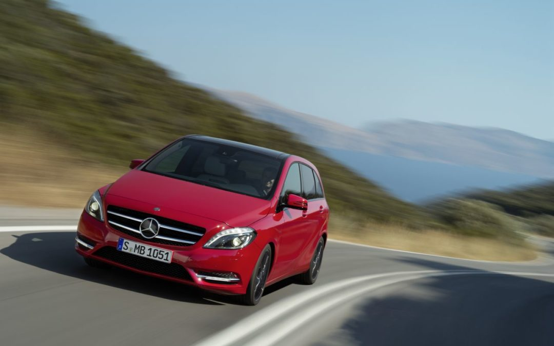 Experience the Mercedes-Benz B-Drive