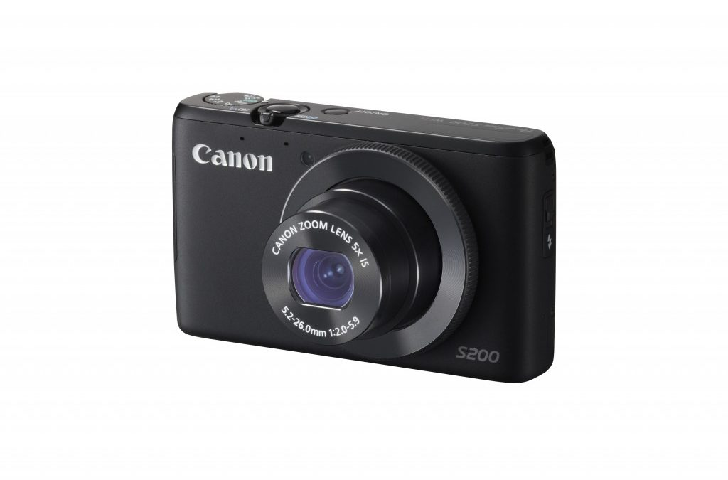 Canon launches PowerShot S200